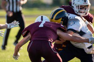 Nampa Christian Trojans Football Vs Wendell Tackle By Daiden Glenn