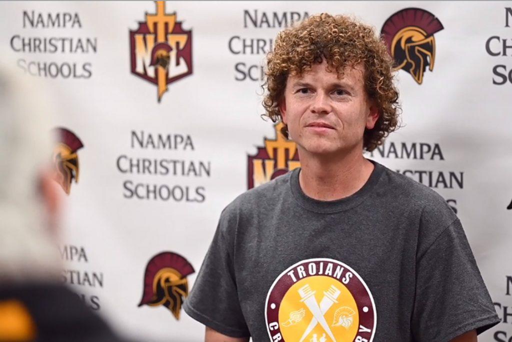 Interview Wityh Zach Dwello Nampa Christian Trojans Head Cross Country Coach