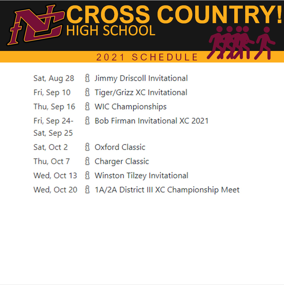 Nampa Christian Trojans Middle School Cross Country Schedule 2021