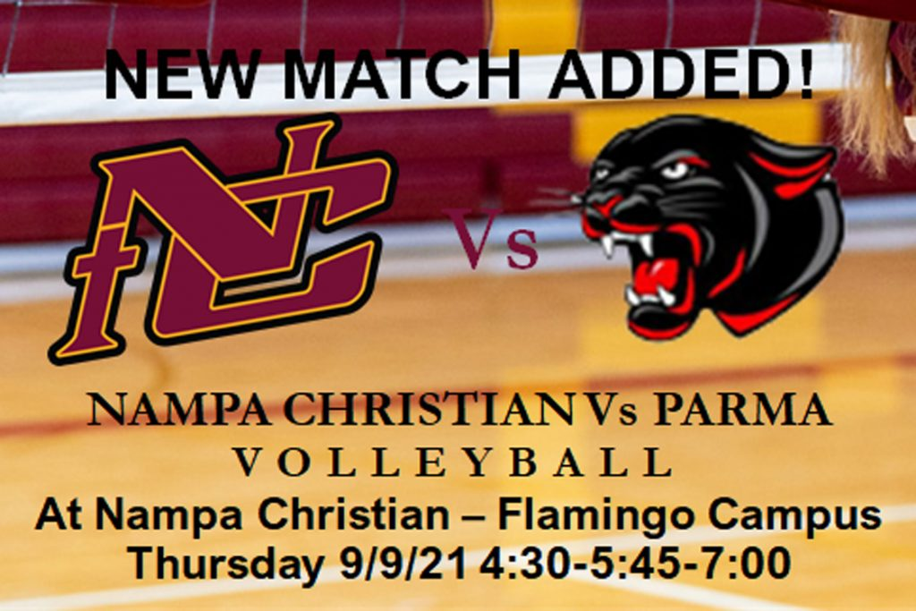 Trojan Volleyball team has added Parma to their home schedule