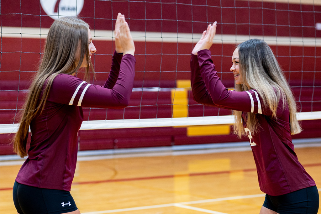 Nampa Christian Volleyball Sweeps Vale 3-0 In Head Coah Debut For Keri Tinsley