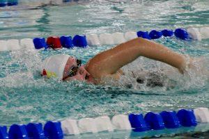 Alisa Hill Freestyle Senior Nampa Christian Trojan Swim Team