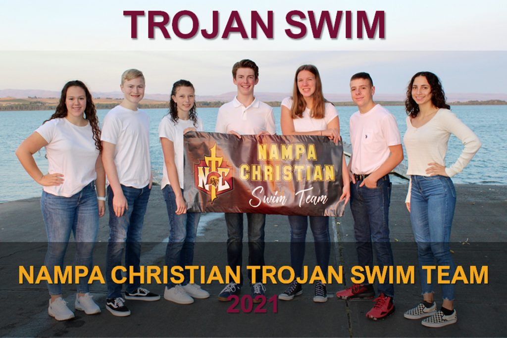 Nampa Christian Trojan Swim Team 2021 Version