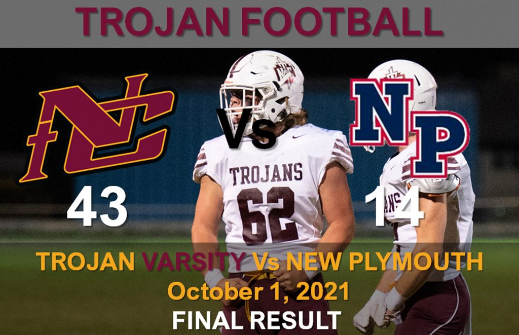 Trojans End 6 Season Dry Spell – Drown The Pilgrims 43-14 At New Plymouth